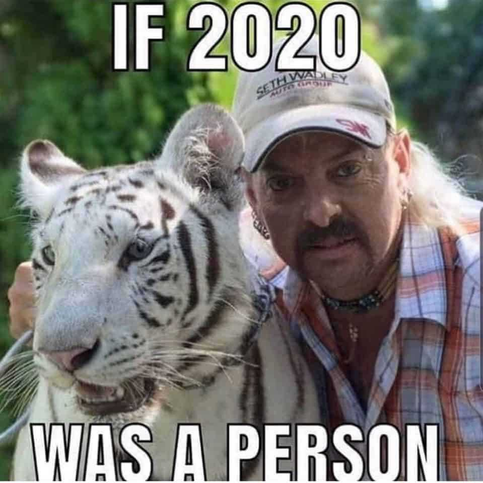 Tiger King Memes - If 2020 Was A Person