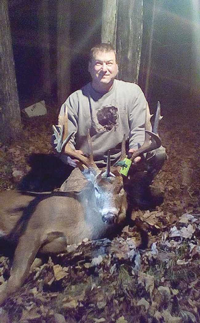 Wisconsin Hunter Bags A Rare Unicorn Buck Pictures