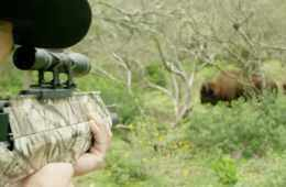 Jim Shockey Takes Down A Buffalo With The New Benjamin Pioneer Airbow Featured