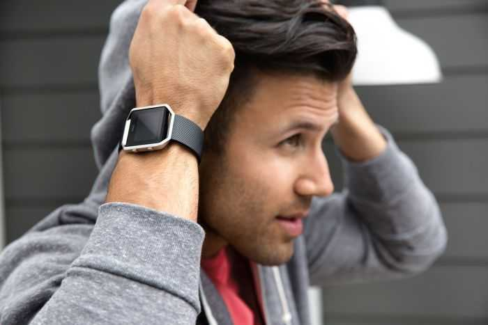 Fitbit Blaze Smartwatch In Black And Silver Review 402