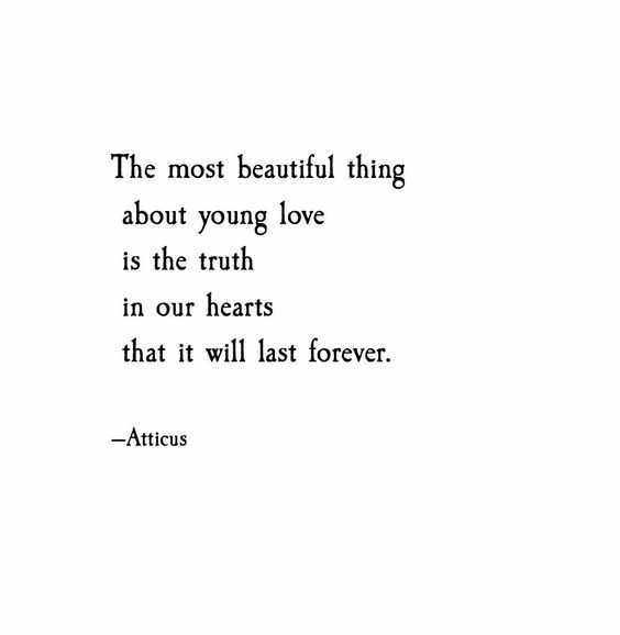 Poetic Quotes  Beauty Of Young Love
