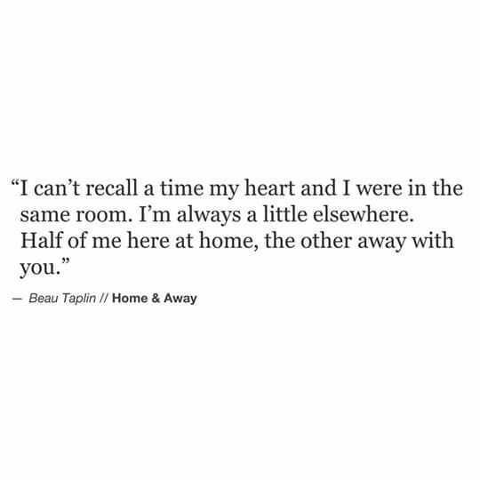 Poetic Quotes  Home And Away