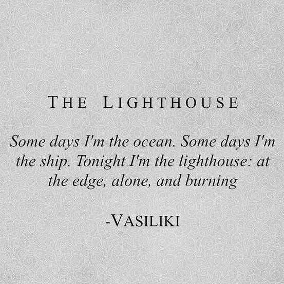 Poetic Quotes  Lighthouse