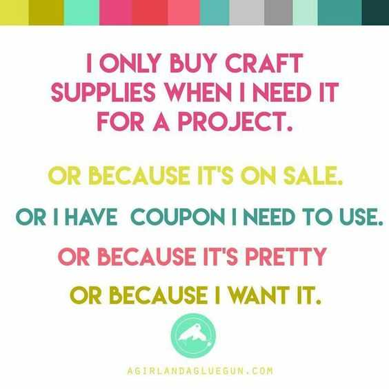 Funny Crafting Memes  Supplies