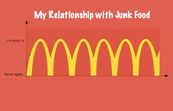 Funny Food Quotes  Junk Food