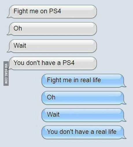 Hilarious Funny Pictures  Them Fighting Words