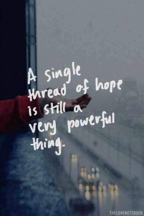 Great Quotes  Thread Of Hope