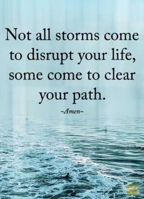 Great Quotes  Storms
