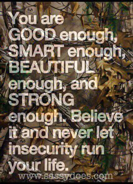 Great Quotes  Insecurity