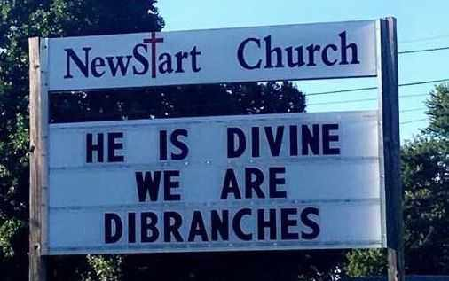 Funny Church Signs  Divine