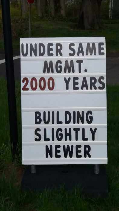 Funny Church Signs  New Management