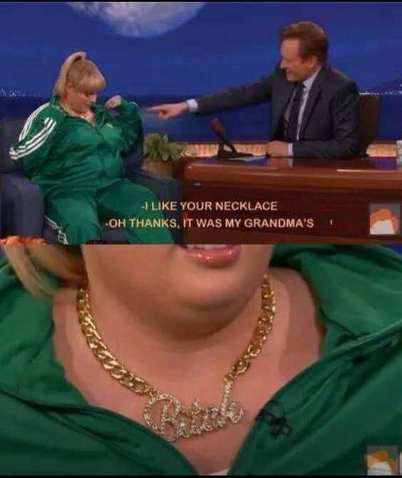 Hilarious Funny Images  Grandma'S Necklace