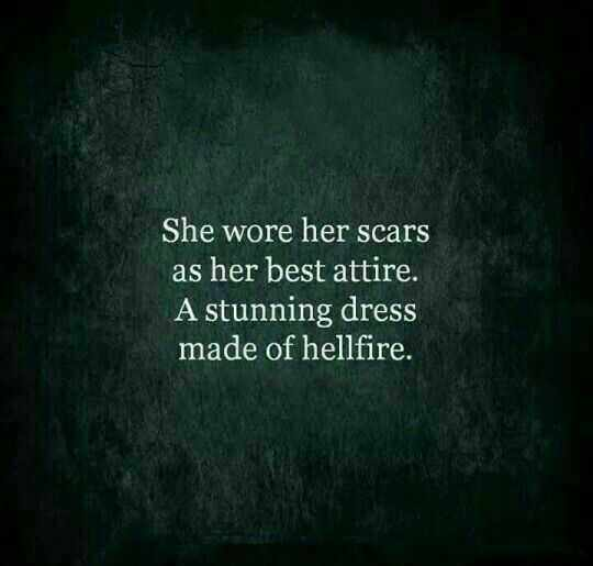 Amazing Quotes On Life  Scars