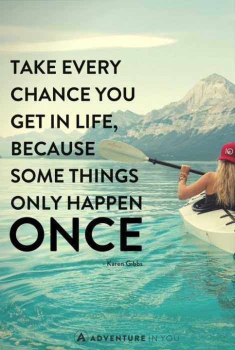 Inspirational Quotes About Yourself  Chances