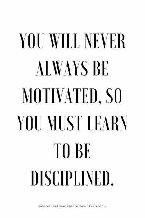Amazing Quotes On Life  Disciplined