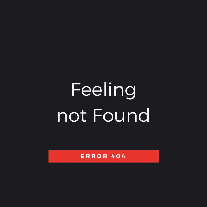Quote Feeling Not Found