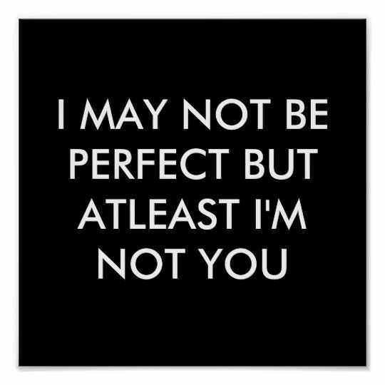 Quote Perfect Not You