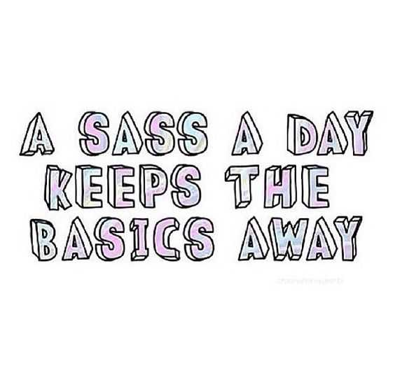 Quote Sass A Day