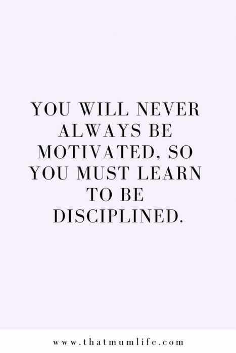 Quote Never Motivated