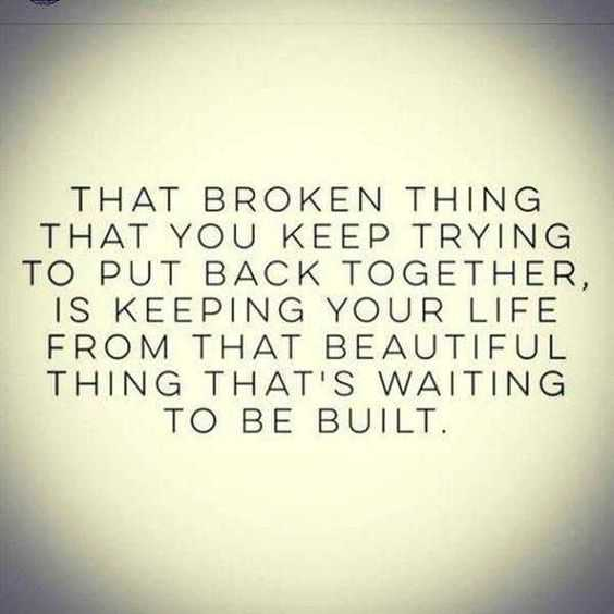 Quote That Broken Thing