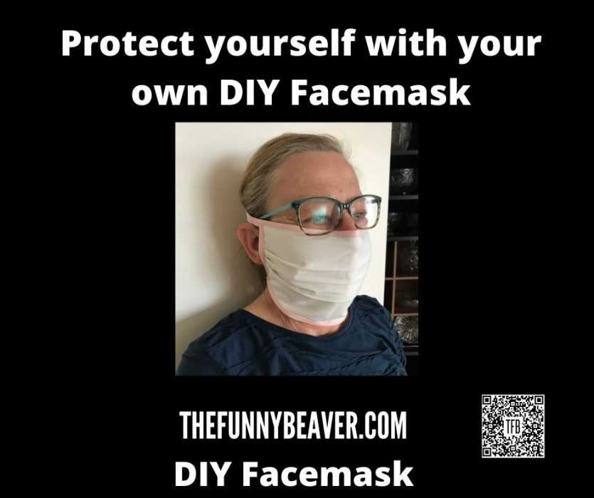 Diy Home Made Face Mask Instructions  Step 13