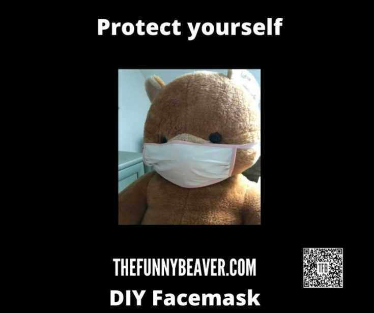 Diy Home Made Face Mask Instructions  Step 12