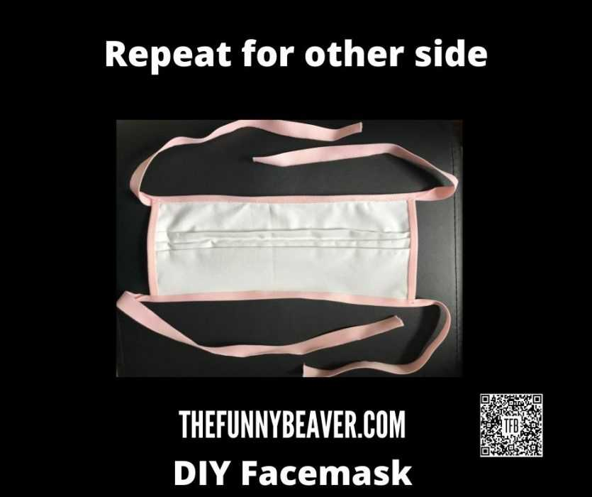 Diy Home Made Face Mask Instructions  Step 11