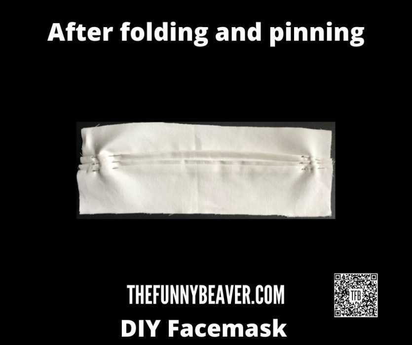 Diy Home Made Face Mask Instructions  Step 3