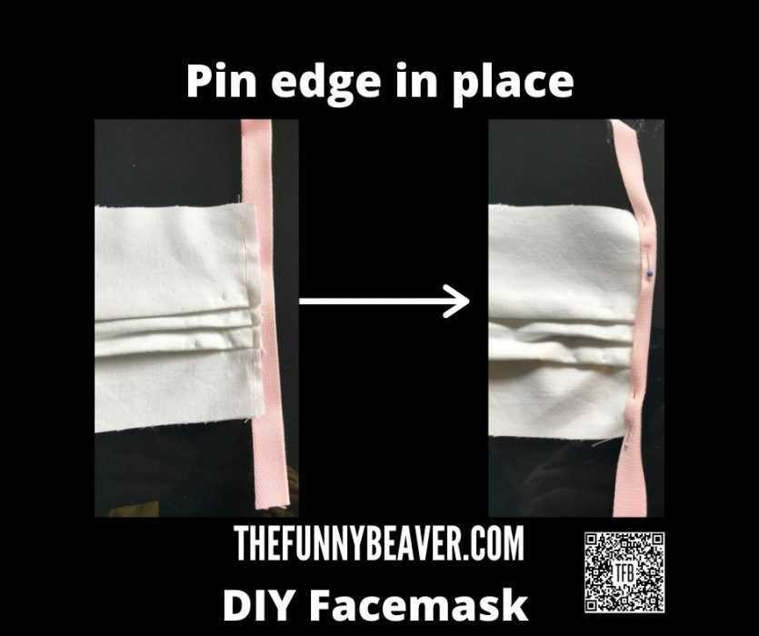 Diy Home Made Face Mask Instructions  Step 5