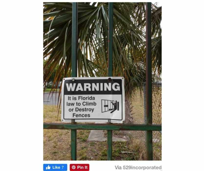 Worry For Humanity  Life Fails  Security Sign Fail