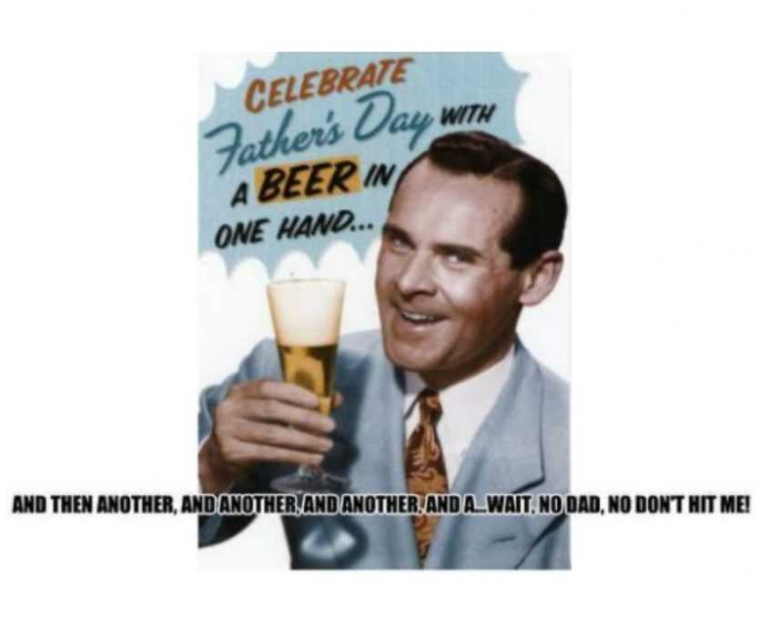 Father'S Day With A Beer Meme