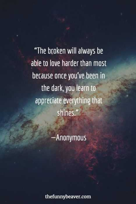 Quotes About Being Broken