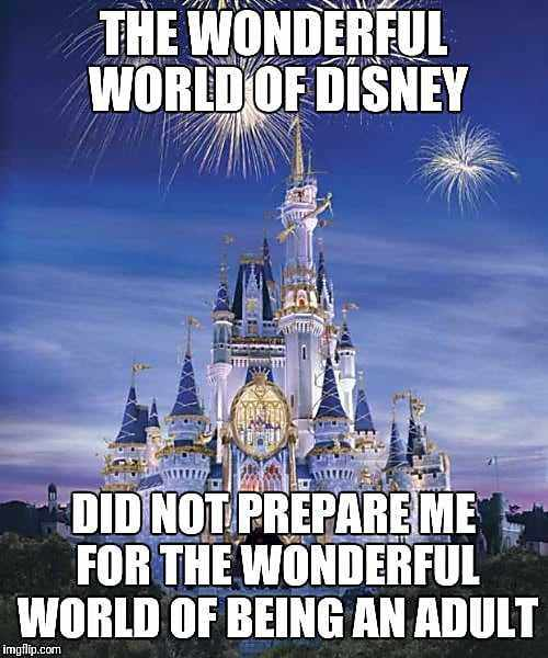 Hilarious Disney Memes About Being An Adult