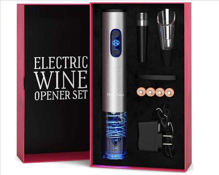 9 Best Christmas Gift Ideas  Electric Wine Opener