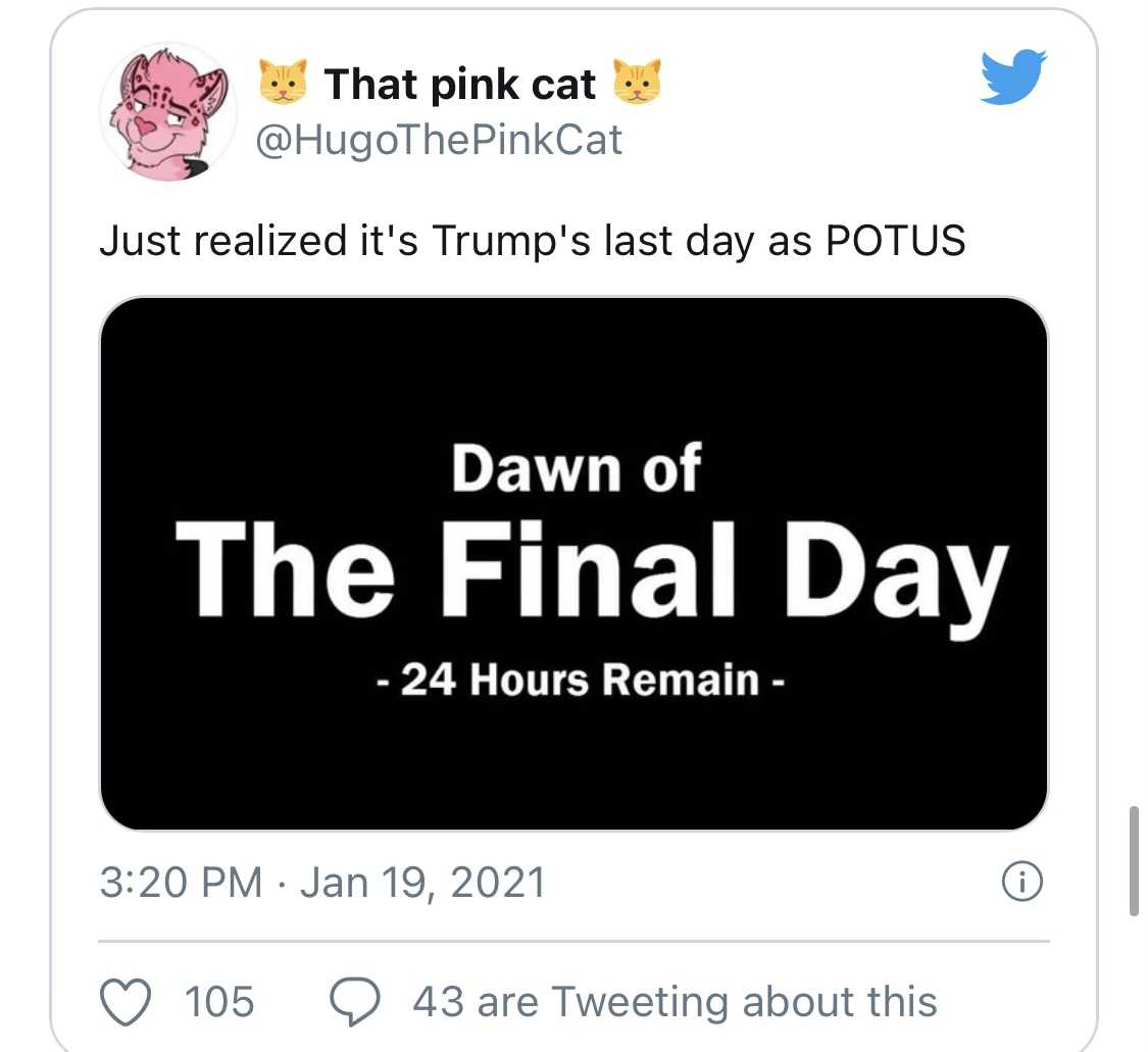 Trump Last Day Memes  Final Day