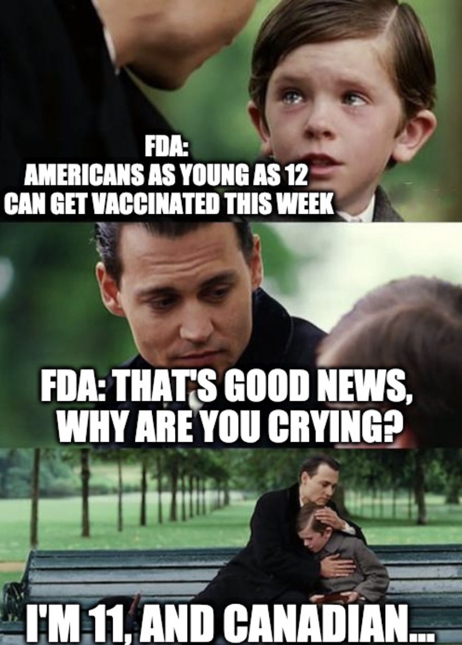 Americans 12 To 15 Can Get Vaccine Meme