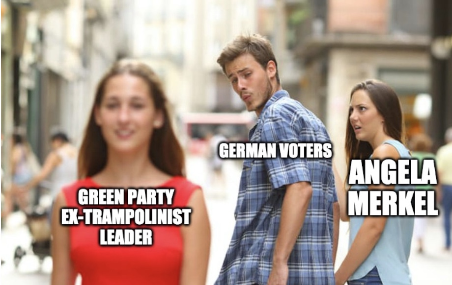 Extrampolinist Green Party Leader Bids To Replace Angela Merkel