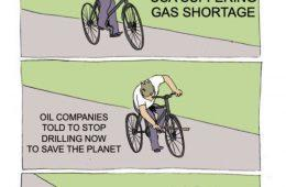 Oil Companies Told To Stop Drilling Meme