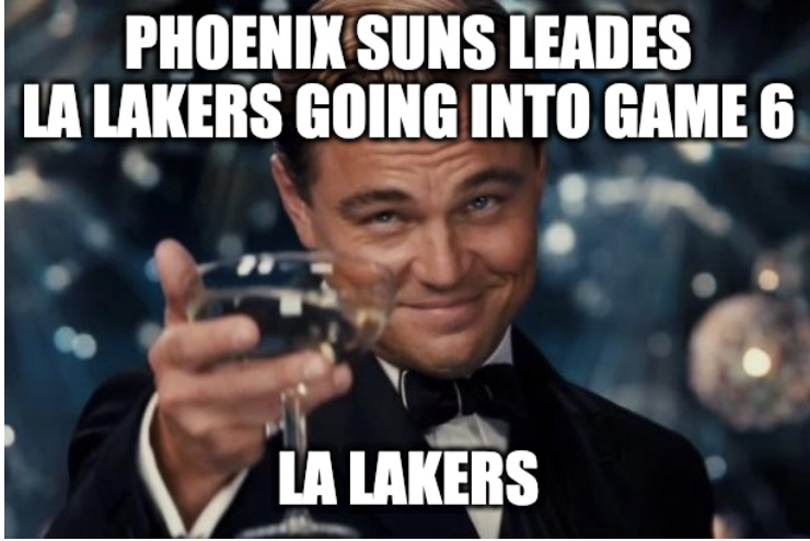 Lakers Eliminated In Game 6 Meme
