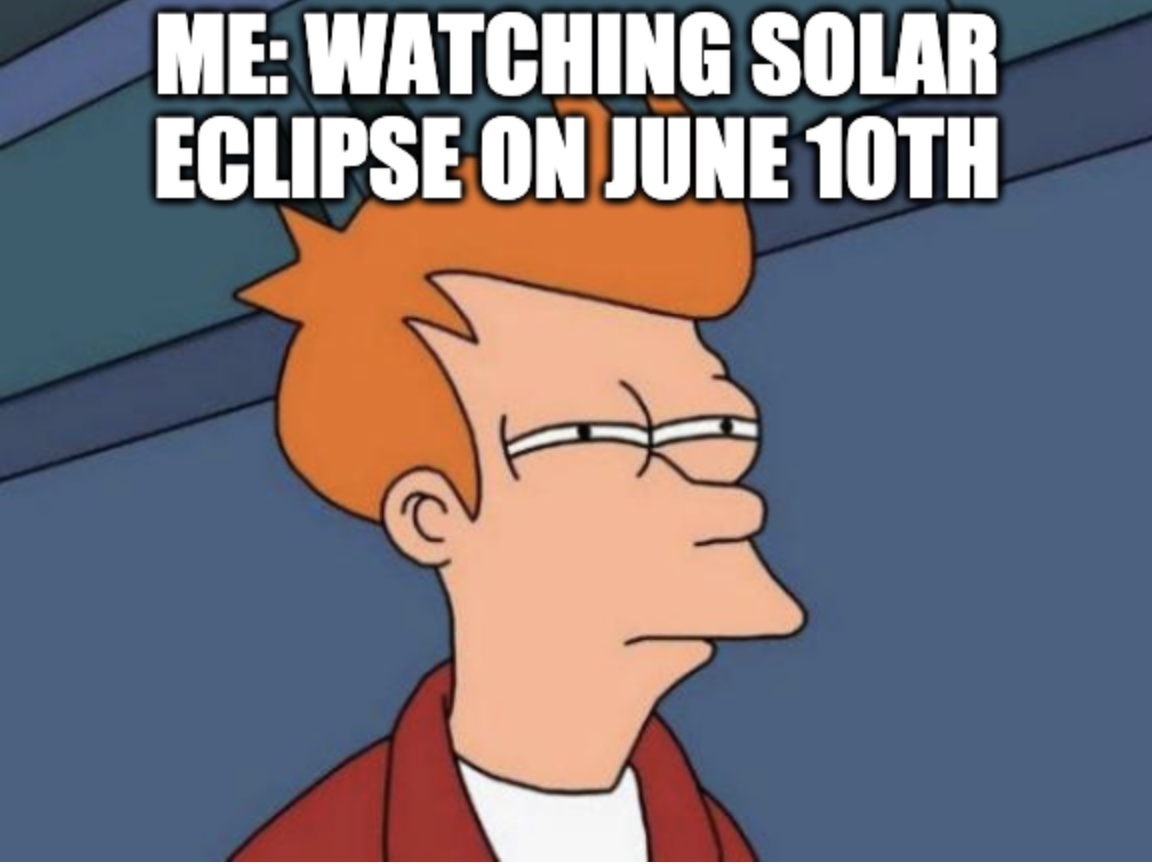 Ring Of Fire Eclipse Meme