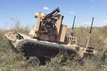 Meet The Robotic Weapon Station Scorpion Rs2 .50Cal Crows Video Featured